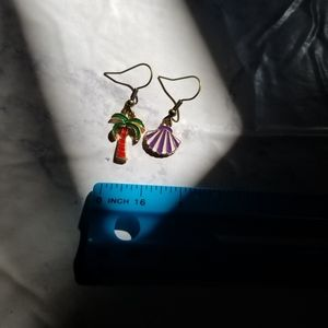 Hand Crafted Jewelry - BEACH DAY | Enamel Earrings Stainless Steel